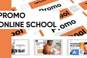 Videohive Promo Online School Presentation 28757869