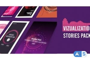 Videohive Visualizer Audio Stories Instagram 28799207
