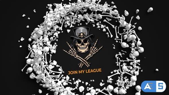 Videohive Bones Logo Reveal 28974703