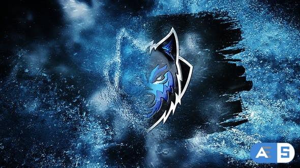 Videohive Winter Ice Logo Reveal 29061157