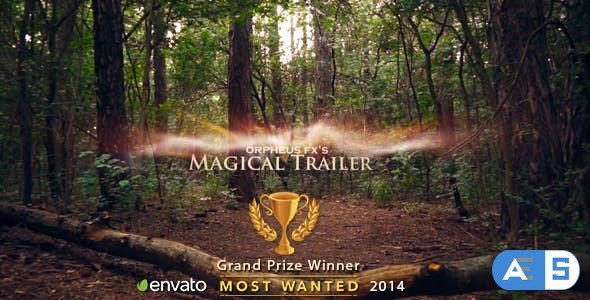 Videohive Magical Trailer 8430392
