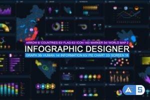Videohive Infographic designer 25936012