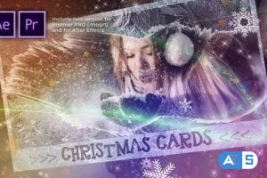 Videohive Christmas Cards Photo Opener 29449283