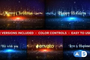 Videohive Christmas Titles 18730813