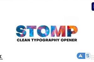 Videohive Clean Stomp Opener 28944515
