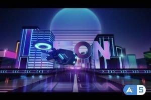 Videohive Neon City Logo 29295940