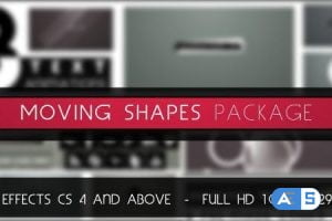 Videohive Moving Shapes Package 3004167