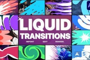 Videohive Liquid Transitions Pack 11 | After Effects 29201003