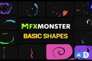 Videohive Basic Shapes Pack   After Effects 29383516