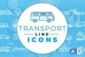 Videohive Transport Icons 29512500
