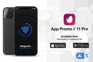 Videohive App Promo // 11 Pro 25015540