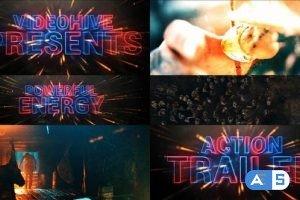 Videohive Cinematic Neon Trailer Teaser 28756881