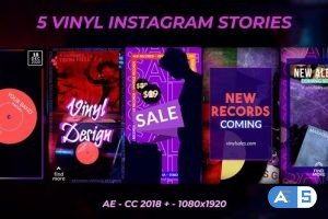 Videohive Vinyl Record Stories 29254792