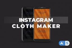 Videohive Instagram Cloth Maker 29504935