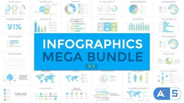 Videohive Infographics Mega Bundle V3 19185270
