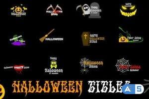 Videohive Halloween Titles 29108527