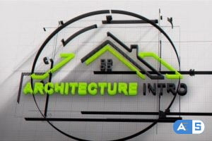 Videohive Architect Logo Intro 21581533