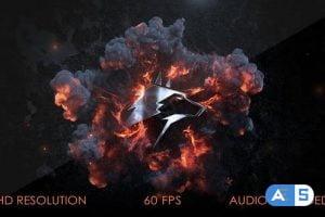 Videohive Cinematic Explosion Intro 29252583
