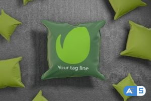 Videohive Simple Pillow logo reveal 28462159