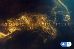 Videohive Gold Cinematic Titles 22869986