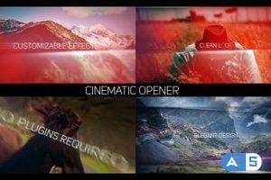 Videohive Cinematic Opener Slideshow 19253490