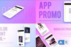 Videohive Phone Mock-up App Promo 23315177