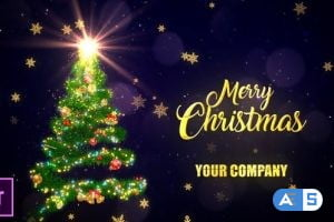 Videohive Christmas Tree Wishes – Premiere Pro 29740138