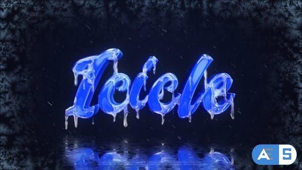 Videohive Frozen Logo 25114358