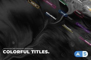 Videohive Colorful Titles 29715213