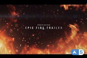 Videohive Epic Fire Trailer 15752423