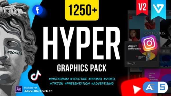 Videohive Hyper – Graphics Pack V2 24835354