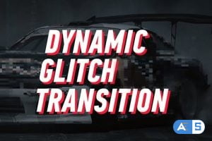 Videohive Dynamic Glitch – Lines Transition 19303394
