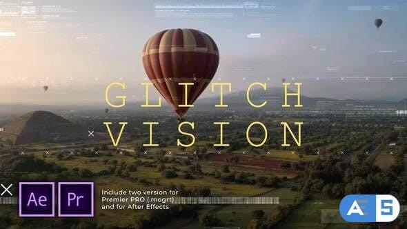 Videohive Glitch Vision Slideshow 29622473