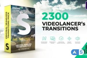 Videohive Videolancer's Transitions | Original Seamless Transitions Pack V8 18967340