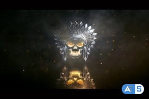 Videohive Metallic Light Logo Reveal 25910339