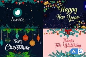 Videohive New Year Greetings Slideshow | After Effects 29725180