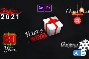 Videohive Christmas Motion Titles 29660176