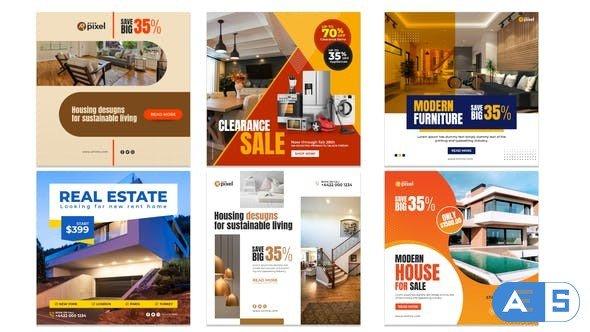 Videohive Real Estate Promo Instagram Post V32 29661700