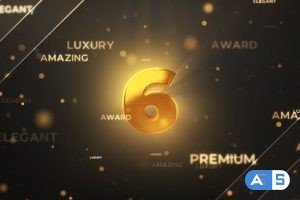Videohive Gold Countdown Intro 29731436