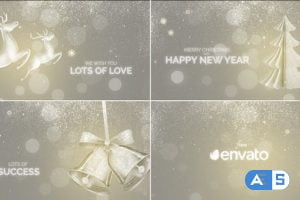 Videohive Christmas Wishes 2021 29574074