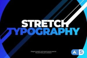 Videohive Stretch Typography 27034802