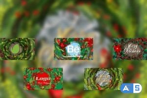 Videohive Christmas Wreaths Reveal 29691609