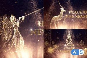 Videohive Christmas Greetings 22866219