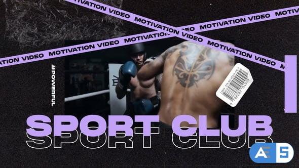Videohive Sports Typographic Promo 29739916