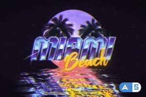 Videohive Retro Wave Logo 24462182