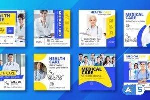 Videohive Medical Health Promo Instagram Post V26 29812625
