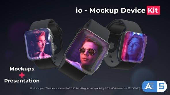 Videohive io – Mockup Device Kit 24835556