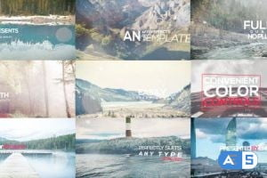 Videohive 3d Photo Titles Opener 17116862
