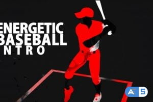 Videohive Energetic Baseball Intro 23973070