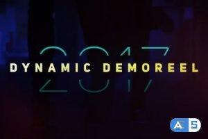 Videohive Dynamic Demoreel Opener 20083696